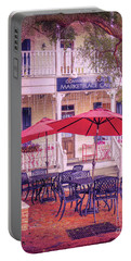 Umbrella Cafe Portable Battery Charger