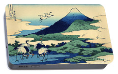 Umegawa In Sagami Province, One Of Thirty Six Views Of Mount Fuji Portable Battery Charger by Hokusai