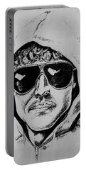 Unabomber Ted Kaczynski Police Sketch 1 Portable Battery Charger