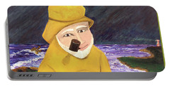 Portable Battery Charger featuring the painting Uncle Bunk by Thomas Blood