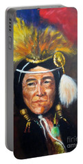 Uncle Joe Portable Battery Charger by Lee Piper