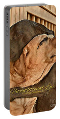 Unconditional Love Portable Battery Charger