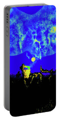 Under A Full Moon Portable Battery Charger