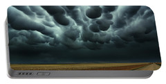 Under A Mammatus Sky Portable Battery Charger