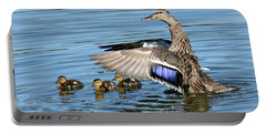 Under My Wings Portable Battery Charger by Fraida Gutovich