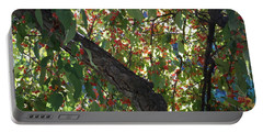 Under The Berry Tree Portable Battery Charger by Catherine Gagne
