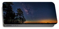 Portable Battery Charger featuring the photograph Under The Milky Way  by Saija Lehtonen