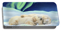 Under The Northern Lights Portable Battery Charger