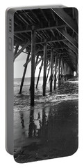 Under The Pier At Myrtle Beach Portable Battery Charger