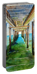 Under The Playa Paraiso Pier Portable Battery Charger
