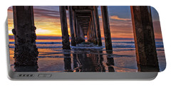 Under The Scripps Pier Portable Battery Charger