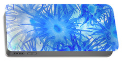 Portable Battery Charger featuring the photograph Under The Sea Colorful Watercolor Art #14 by Debra and Dave Vanderlaan