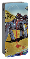 Portable Battery Charger featuring the painting Under The Sun by Ryan Demaree