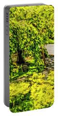 Under The Willow Portable Battery Charger by Nancy Marie Ricketts