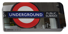 Underground Sign London Portable Battery Charger