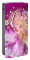 Underwater Flower Abstract 8 Portable Battery Charger