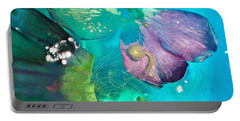 Underwater Flower Abstraction 4 Portable Battery Charger