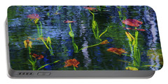 Underwater Lilies Portable Battery Charger