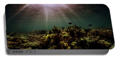 Underwater Sunset Portable Battery Charger