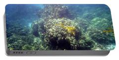 Underwater World Portable Battery Charger by Karen Nicholson