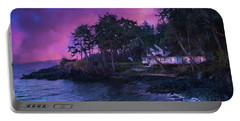 Portable Battery Charger featuring the photograph Undreamed Shores - Chesapeake Art by Jordan Blackstone