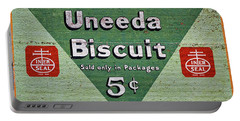 Uneeda Biscuit Vintage Sign Portable Battery Charger