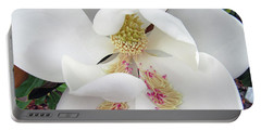 Unfolding Beauty Of Magnolia Portable Battery Charger