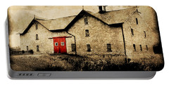 Uni Barn Portable Battery Charger by Julie Hamilton