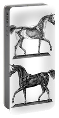 Unicorn Anatomy Portable Battery Charger