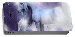 Unicorn Kisses Portable Battery Charger
