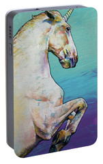 Unicorn Portable Battery Charger by Michael Creese