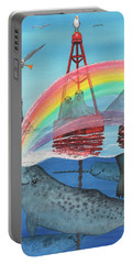 Unicorn Of The Sea Portable Battery Charger
