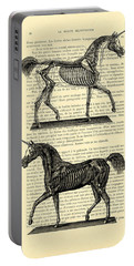 Unicorns Anatomy Portable Battery Charger