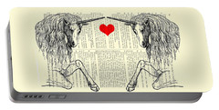 Unicorns Love Portable Battery Charger
