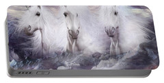 Unicorns Of The Mountains Portable Battery Charger