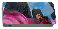 Portable Battery Charger featuring the photograph Unimpressed In New York by Alex Lapidus