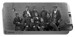 Union Officers On Deck Of The Uss Monitor - 1862 Portable Battery Charger