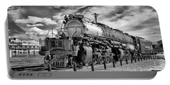 Portable Battery Charger featuring the photograph Union Pacific 4-8-8-4 Big Boy by Paul W Faust - Impressions of Light