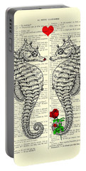 Unique Valentines Day Gift Ideas, Seahorses Portable Battery Charger