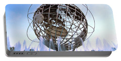 Unisphere With Fountains Portable Battery Charger