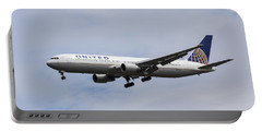United Airlines Boeing 767 Portable Battery Charger