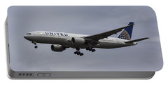 United Airlines Boeing 777 Portable Battery Charger