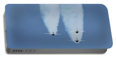 United States Air Force Thunderbirds Portable Battery Charger by Robert Banach