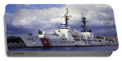 United States Coast Guard Cutter Rush Portable Battery Charger