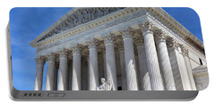 Portable Battery Charger featuring the photograph United States Supreme Court Building by Steven Frame