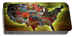 United States Wall Art Portable Battery Charger