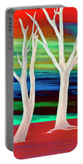 Portable Battery Charger featuring the photograph United Trees by Munir Alawi