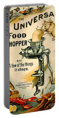 Universal Food Chopper 1897 Portable Battery Charger by Padre Art