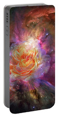 Universe Within A Rose Portable Battery Charger
