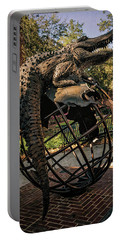 Portable Battery Charger featuring the photograph University Of Florida Sculpture by Joan Carroll